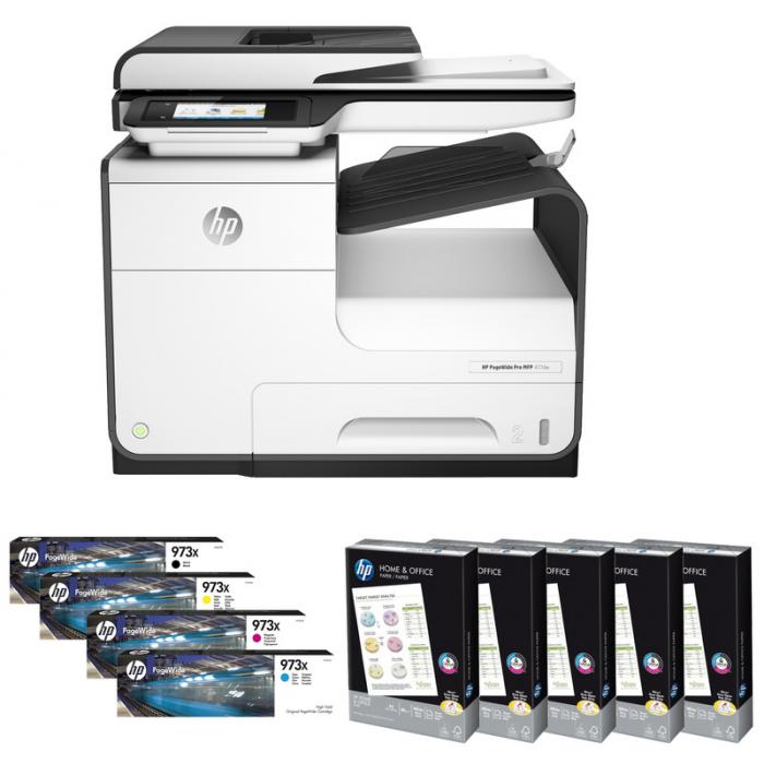 Startpakket HP PageWide Pro 477dw - Vergelijk-Printers.nl