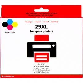Huismerk 29 XL 4-Kleuren Pack voor Epson printers (C13T29964010)