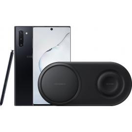 Samsung Galaxy Note 10 Zwart + Samsung Draadloze Oplader DUO Pad Zwart