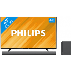 Philips 43PUS6504 + Soundbar
