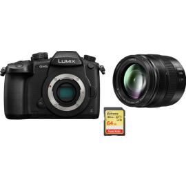 Panasonic GH5 + 12-35mm f/2.8 II ASPH OIS + SanDisk 64 GB