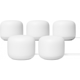 Google Nest Wifi Wit 5-Pack Multiroom wifi