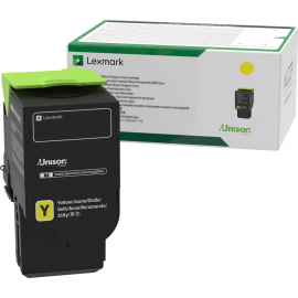 Lexmark C242XY0 Yellow Extra High Yield Return Programme Toner Cartridge