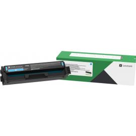 Lexmark C332HC0 Cyan High Yield Return Program Print Cartridge
