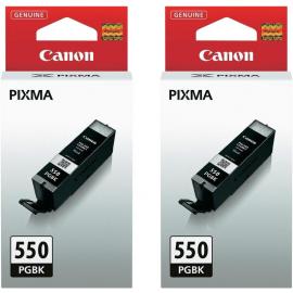 Canon PGI-550PGBK Duo Pack Pigment Zwart (6496B001)
