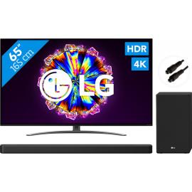 LG 65NANO866NA (2020) + Soundbar + Optische kabel