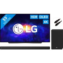 LG OLED55CX6LA (2020) + Soundbar + Optische kabel
