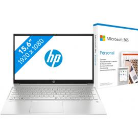 HP Pavilion 15-eh0947nd + Microsoft 365 Personal NL Abonnement 1 jaar