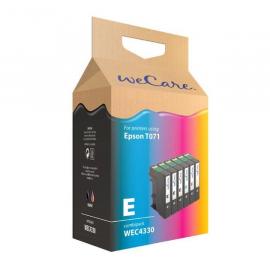 Wecare Epson T0715 set A6 Inkt