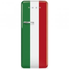 Smeg FAB28RDIT5 italiaanse vlag Koelkast met vriesvak Groen