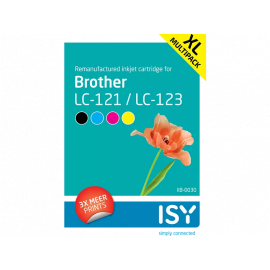ISY Multipack Brother 123 series