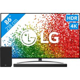 LG 86NANO916PA (2021) + Soundbar