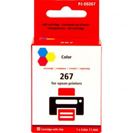 Huismerk 267 3-Kleuren voor Epson (C13T26704010)