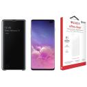 Samsung Galaxy S10 Plus 128 GB Zwart + Beschermingspakket