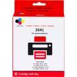 Huismerk 26 XL 4-Kleuren Pack voor Epson printers (C13T26364010)