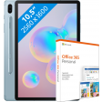 Samsung Galaxy Tab S6 128GB WiFi  Blauw + gratis MS Office 365 Personal