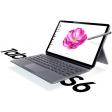 Samsung Galaxy Tab S6 256GB WiFi Grijs + Keyboard Case Grijs