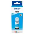 Epson 104 EcoTank Inktfles Cyaan
