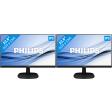 Philips 243V7QDAB Duo Set-up