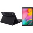Samsung Galaxy Tab A 10.1 (2019) Wifi 32 GB Zwart + Just in Case Keyboard Book Case
