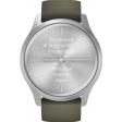 Garmin Vivomove Style - Zilver/Groen - 42 mm