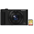 Sony CyberShot DSC-HX90 + SanDisk 64 GB Geheugenkaart