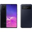 Samsung Galaxy S10 Lite Zwart + Samsung S View Wallet Cover Zwart