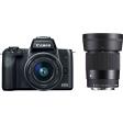 Canon EOS M50 + 15-45 + Sigma 30mm