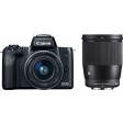 Canon EOS M50 + 15-45 + Sigma 16mm
