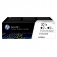 HP 201X Toner Zwart XL Duo Pack (CF400XD)