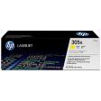 HP 305A LaserJet Toner Geel (CE412A)