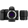 Nikon Z50 + FTZ Adapter Kit + 50mm