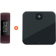 Fitbit Charge 4 Palissanderbruin + Fitbit Aria Air Zwart