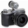 Canon EOS M6 Mark II Zilver + 15-45mm Zwart + EVF-DC2