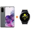 Samsung Galaxy S20 128GB Grijs 4G + Samsung Galaxy Watch Active Zwart