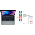 """Apple MacBook Pro 13"""" Space Gray + Microsoft Office 2019 Thuisgebruik en Zelfstandigen"""