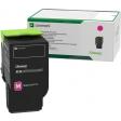 Lexmark C2320M0 Magenta Return Programme Toner Cartridge
