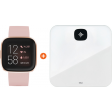 Fitbit Versa 2 Roze + Fitbit Aria Air Wit