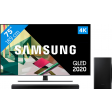 Samsung QLED 75Q74T + Soundbar