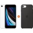 Apple iPhone SE 2 128 GB Wit + Apple iPhone SE Silicone Back