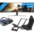 Luxe UltraWide Monitor Racing set-up