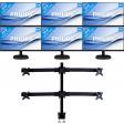 6 Monitoren set-up