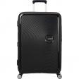 American Tourister Soundbox Expandable Spinner 77cm Bass Black