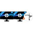 HP 22w + Newstar FPMA-D550DBLACK