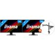 iiyama ProLite X2481HS-B1 + Newstar FPMA-D550DBLACK