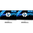 HP EliteDisplay E233 dual monitor setup
