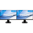 Philips 243S7EHMB/00 dual monitor setup