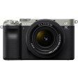 Sony A7C Zilver + 28-60mm f/4-5.6 Zwart