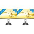 AOC U2790PQU dual monitor setup