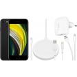 Apple iPhone SE 64 GB Zwart + Accessoirepakket Totaal